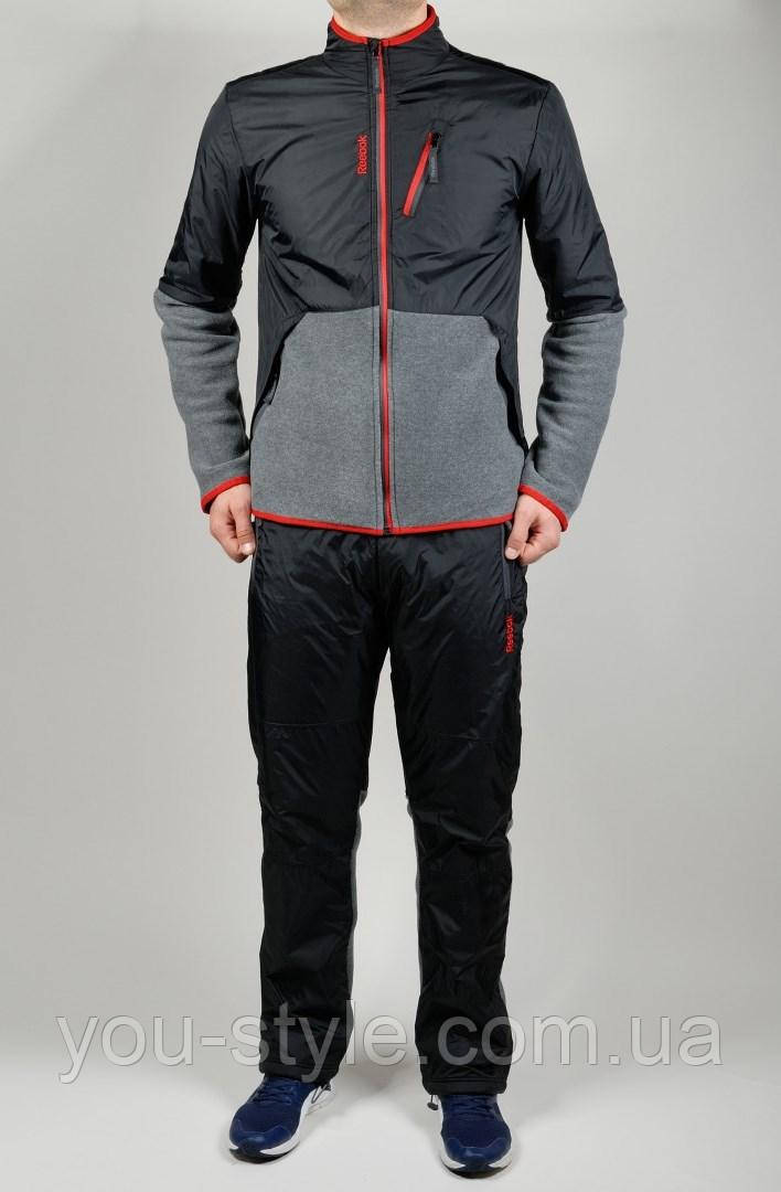 ade2cb84f14 Зимний спортивный костюм Reebok 4498 Тёмно-серый
