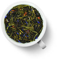 Чай Gutenberg с добавками зеленый с черным Клубника в шампанском
