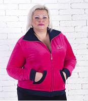 Женский спортивный костюм большие размеры 2XL 3XL 4XL