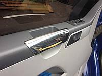 Накладки на подлокотники Volkswagen T5 (сталь, Omsa)