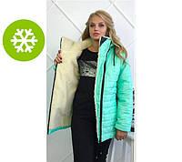 """Практичная и теплая зимняя куртка """"Polaris"""": большие размеры"""