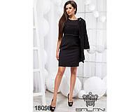 Стильное платье с пиджаком - 18098 (б-ни)