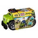 Автомобиль-Джип Mega Bloks зеленый, 1+, фото 4