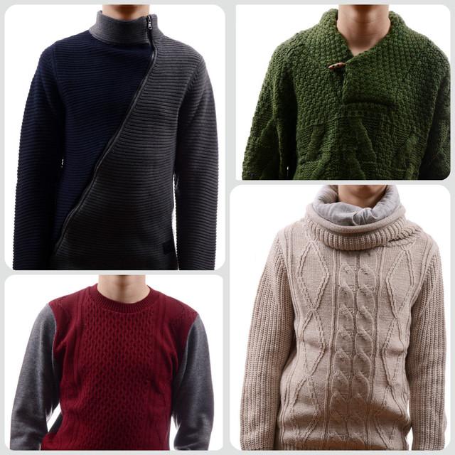 Кофты, гольфы - водолазки, свитера мужские оптом