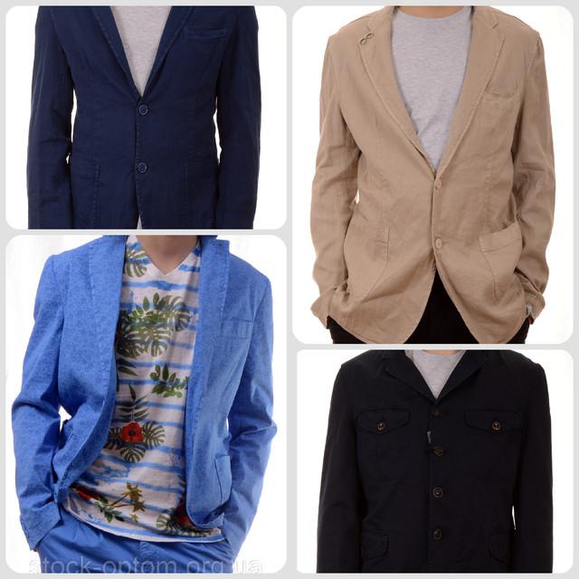 Піджаки, костюми чоловічі брючні сток оптом