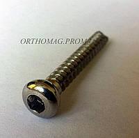 Винт титановый кортикальный d 4,5 мм