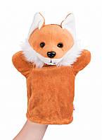 Кукла-перчатка goki Лиса (51803G-2), игрушки для кукольного театра, игрушка-перчатка goki Лиса 51803G-2
