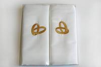 Свадебный набор наволочек 50х70, сатин