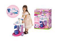 Детская тележка для уборки с аксессуарами 65008