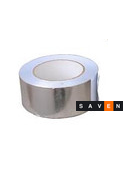 Скотч алюминиевый для сауны (100°С) 50м/рулон, фото 2