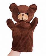 Лялька-рукавичка goki Ведмедик, кукольный театр, игрушка перчатка