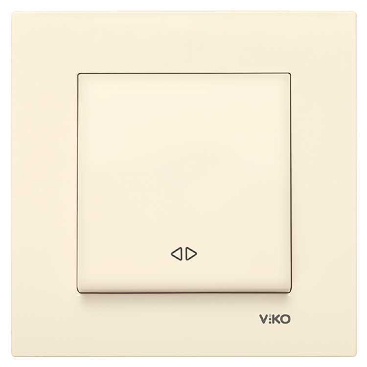 Переключатель перекрестный (реверсивный) VIKO Karre Крем 90960131