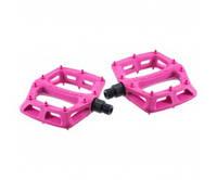 Педали DMR V6 Plastic Pedal - Cro-Mo Axle (Pink) розовые