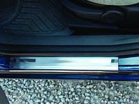 FORD FUSION Накладки на дверные пороги OmsaLine