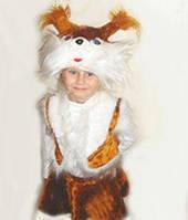 """Маскарадные костюмы для детей на новый год - """"Белка"""""""