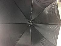 Зонт чёрный полуавтомат