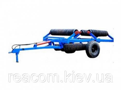 Каток зубчато-кольчатый гидрофицированный КЗК-9,2П