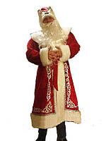 Новогодний маскарадный костюм - Дед мороз р-р 50-52,54-56,58-60 р-р.