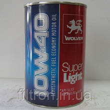 Моторное масло Wolver SUPER LIGHT 10W-40 1л