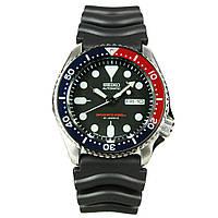 Мужские механические часы Seiko SKX009J1 Pepsi Сейко часы механические с автозаводом