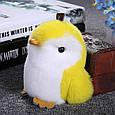Брелок Пингвин 20 см, натуральный мех, фото 4
