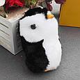 Брелок Пингвин 20 см, натуральный мех, фото 2