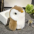 Брелок Пингвин 20 см, натуральный мех, фото 6