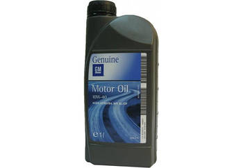 Моторное масло GM Motor Oil Semi Synthetic 10W-40 1л (1942043)