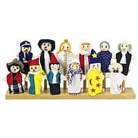 Goki Набор кукол для пальчикового театра (Set 1) SO399G