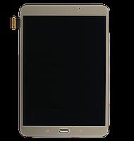 Дисплей (экран) для Samsung T710 Galaxy Tab S2 8.0, T715 + тачскрин, бронзовый