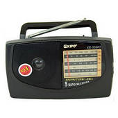 Радиоприёмник Kipo KB-308 AC оригинал