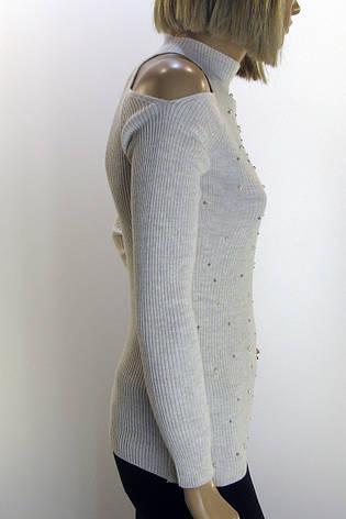 Жіночий гольф з відкритими плечами Сaroon, фото 2