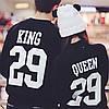 "Парные свитшоты ""Queen&King"""