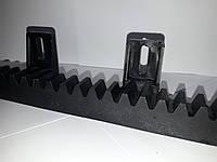 Пластиковая зубчатая рейка со стальным сердечником