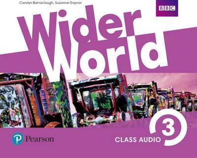Аудио-диски Wider World 3 Class Audio CDs (3)