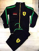 Спортивный костюм Ferrari черный