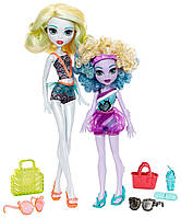 Игровой набор Лагуна Блю и её сестра Келпи Блю серии Монстро-семейка Monster High