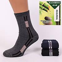Мужские носки махровые ЯН&ЯНА М01-08. В упаковке 12 пар
