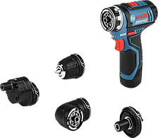 Аккумуляторная дрель-шуруповерт Bosch GSR 12V-15 FC Professional (2 А/ч, 1300 об/мин)