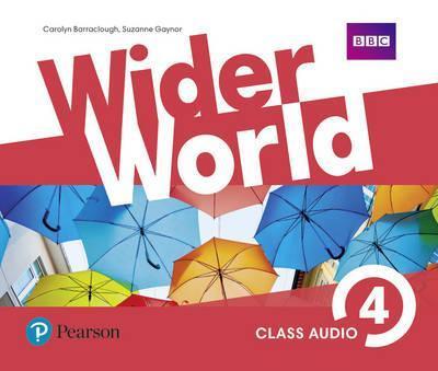 Аудио-диски Wider World 4 Class Audio CDs (4)