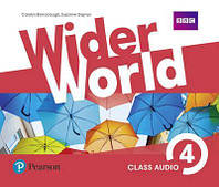 Аудио-диски Wider World 4 Class Audio CDs (4)
