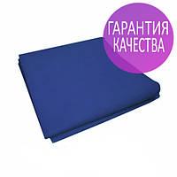 Чехол на кушетку 0,8х2,1м Panni Mlada бесшовный спанбонд 45 г/м2, универсальный с резинкой, 1 шт, синий