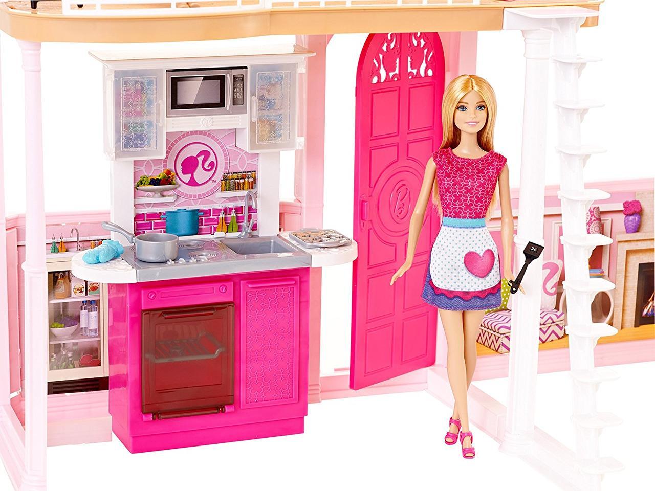 Barbie Dream House Pool Dvh97 Kupit Ukraina Familyland Com Ua