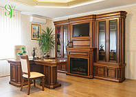 Элитная деревянная мебель для кабинета Колизей