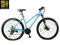 "Велосипед Profi ELEGANCE 27,5"" голубой , фото 1"