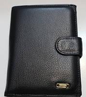 Мужское кожаное портмоне Balisa B83-302 черный Портмоне мужское из натуральной кожи недорого в Одессе