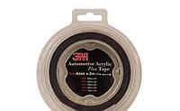 Двухсторонний скотч 3М серый 12 ММ Х 2 М, фото 1