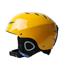 Горнолыжный шлем Feiyu. Желтый