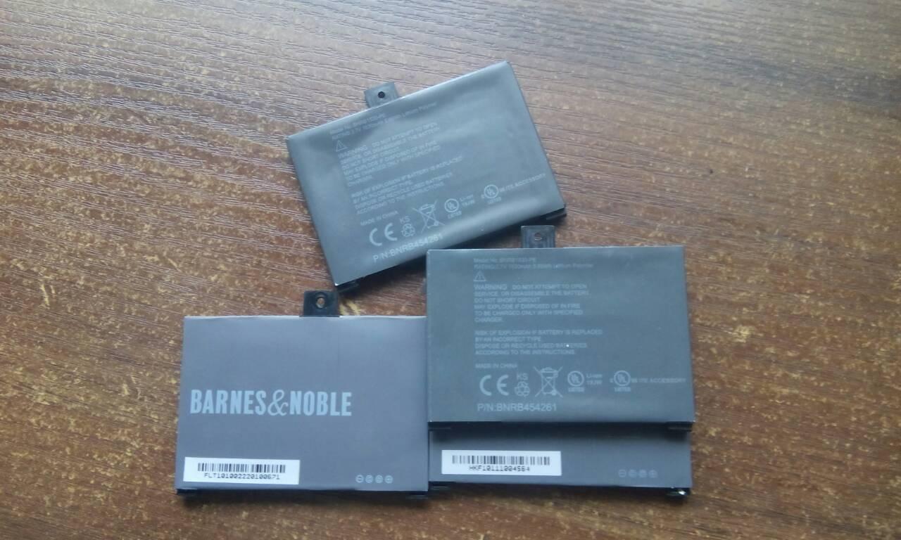 Аккумулятор, батарея 1530 mAh  Nook 1st