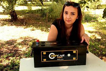 Аккумулятор top car 6СТ-140